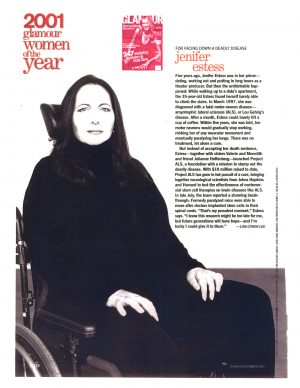 Jennifer Estess: 2001 Glamour Women of the Year
