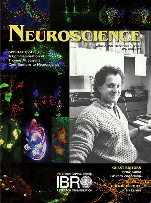 Cover of Tom Jessel Neuroscience Issue